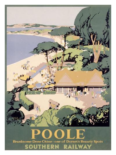 Southern Railway, Poole--Giclee Print