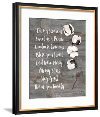 Southern Sayings-Jo Moulton-Framed Art Print