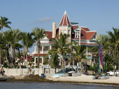 Southernmost House (Mansion) Hotel and Museum, Key West, Florida, USA-R H Productions-Photographic Print