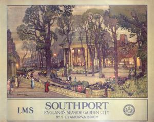 Southport, Englands Seaside Garden City, LMS, c.1923-1947