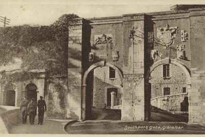Southport Gate, Gibraltar--Photographic Print