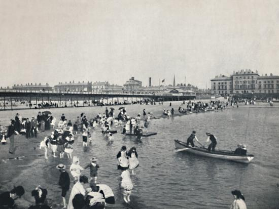 'Southport - The Pier and the South Lake', 1895-Unknown-Photographic Print