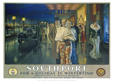 Southport--Giclee Print