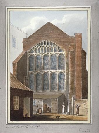 Southwark Cathedral, London, 1825-G Yates-Giclee Print