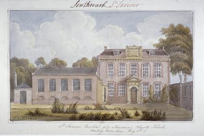 Southwark Schools, London, 1826-G Yates-Giclee Print