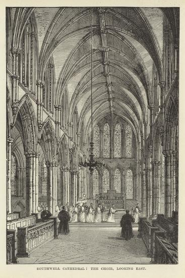 Southwell Cathedral, the Choir, Looking East--Giclee Print