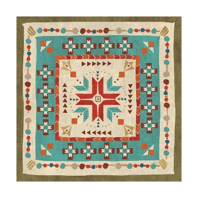 Southwest at Heart Tile VII-Veronique Charron-Art Print