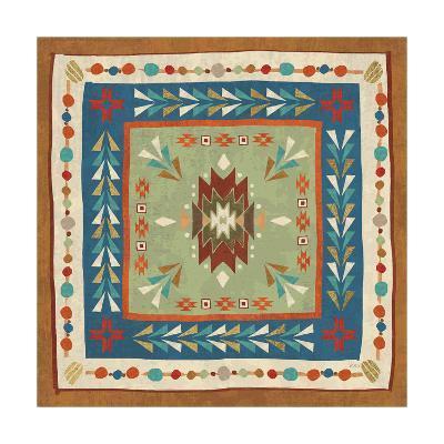 Southwest at Heart Tile VIII-Veronique Charron-Art Print