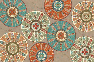 Southwest at Heart XII Square-Veronique Charron-Art Print