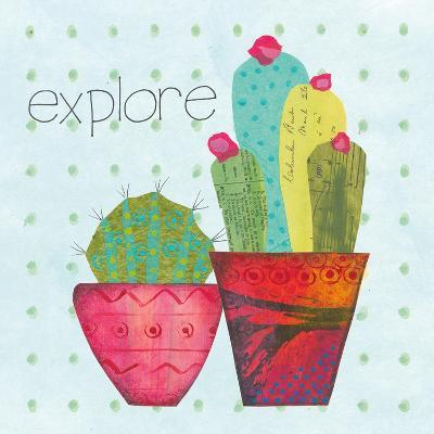 Southwest Cactus I-Courtney Prahl-Art Print