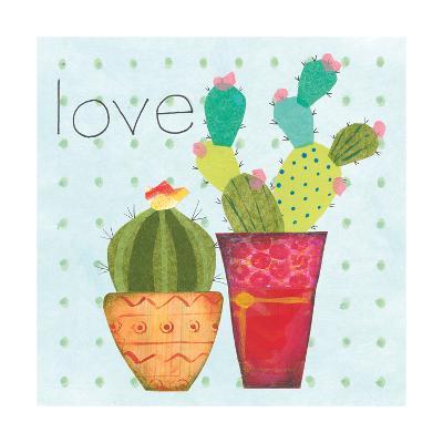 Southwest Cactus III-Courtney Prahl-Art Print