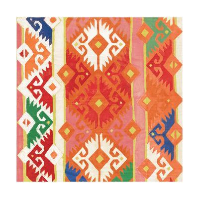 Southwest Pattern II Bright-Albena Hristova-Art Print