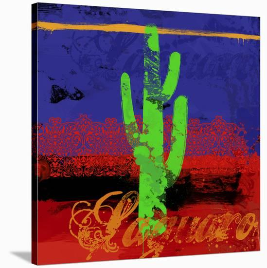 Southwest Waves II-Parker Greenfield-Stretched Canvas Print