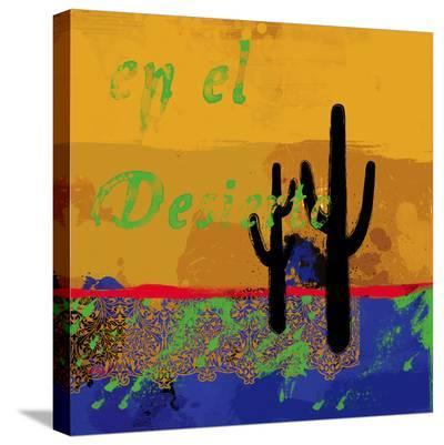 Southwestern Duel-Parker Greenfield-Stretched Canvas Print
