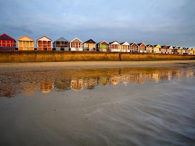 Southwold Beach Huts-Marc Bedingfield-Photographic Print