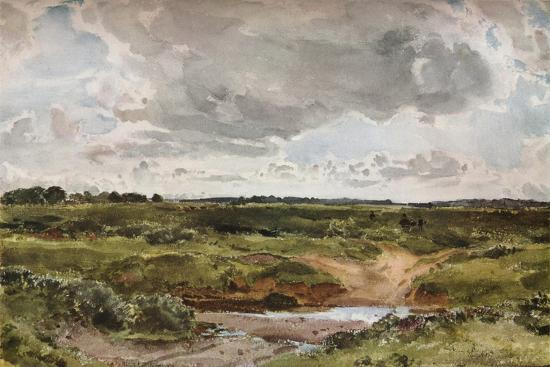 'Southwold Common in August', c1889-Otto Limited-Giclee Print