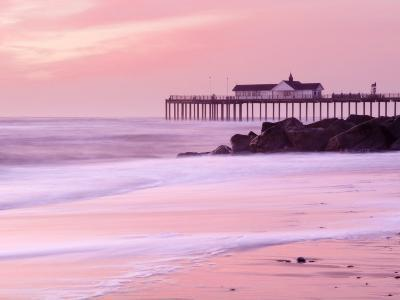 Southwold Pier at Dawn, Suffolk, UK-Nadia Isakova-Photographic Print