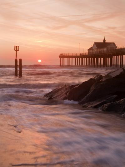 Southwold Pier at Dawn, Suffolk, UK-Nadia Isakova-Photographic Print
