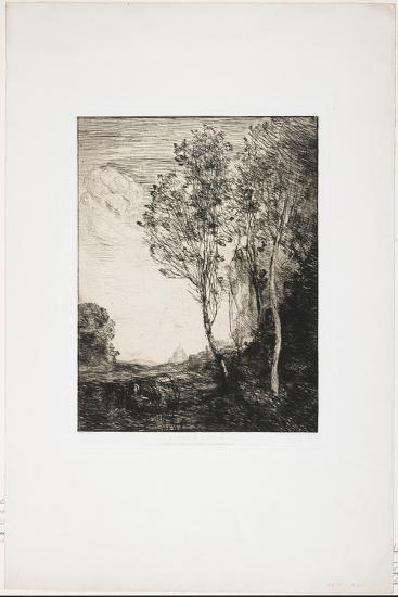 Souvenir D'Italie (A Memory of Italy), 1863-Jean-Baptiste-Camille Corot-Giclee Print