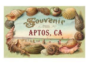 Souvenir from Aptos, California
