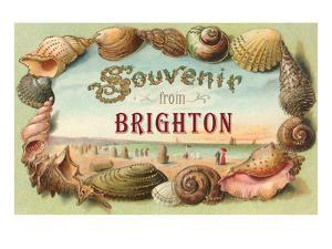 Souvenir from Brighton, England