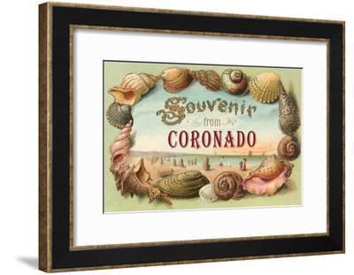 Souvenir from Coronado, California--Framed Art Print