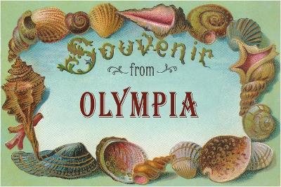 Souvenir from Olympia--Art Print