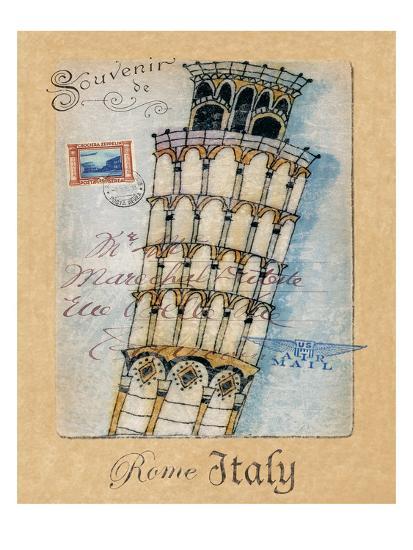 Souvenir of Rome-Hugo Wild-Art Print