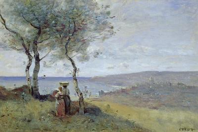 Souvenir of St. Jean De Luz, 1872-Jean-Baptiste-Camille Corot-Giclee Print