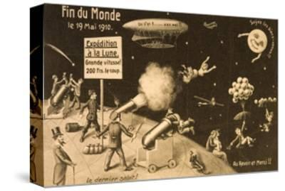 """Souvenir Postcard for """"La Fin Du Monde"""""""