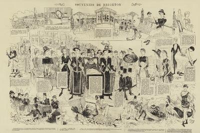 Souvenirs De Brighton--Giclee Print