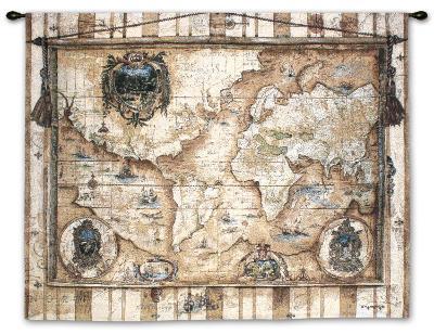 Souvenirs des Voyage-Elizabeth Jardine-Wall Tapestry