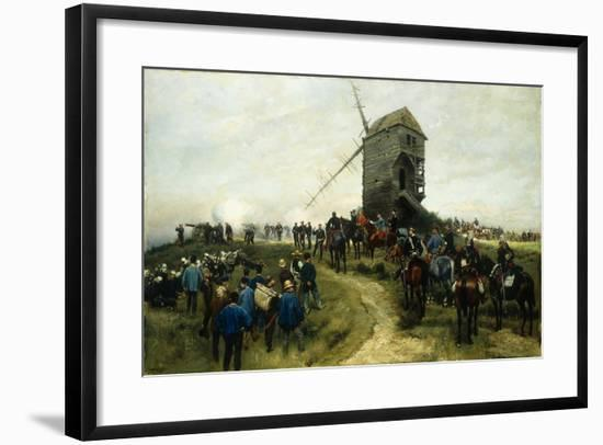 Souvernirs Des Grandes Manoeuvres, 1879-Jean-Baptiste Edouard Detaille-Framed Giclee Print