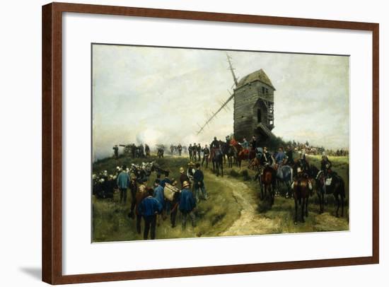 Souvernirs Des Grandes Manoeuvres, 1879-Jean-Baptiste Edouard Detaille-Framed Giclee Print