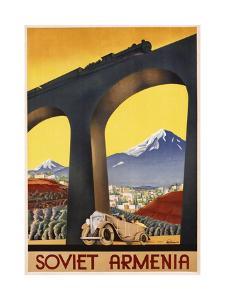 Soviet Armenia Poster