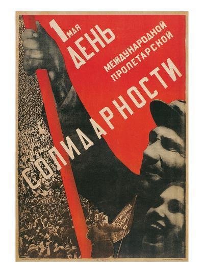 Soviet International Proletariat Solidarity--Art Print