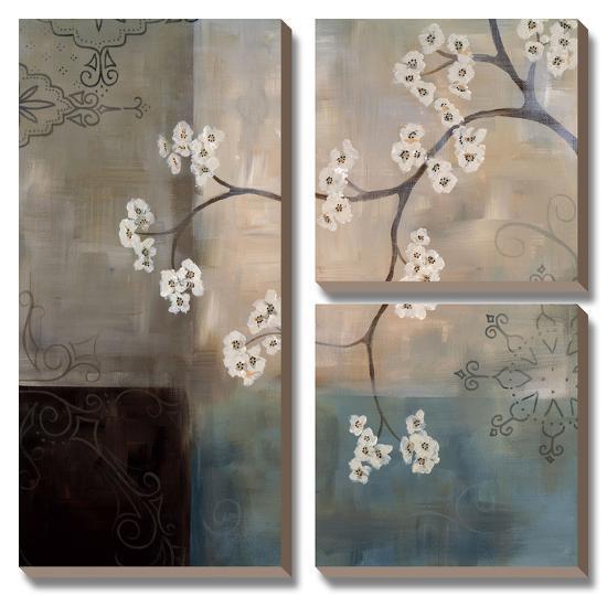 Spa Blossom I-Laurie Maitland-Canvas Art Set