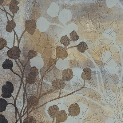 Spa Blue and Gold I-Tim O'toole-Art Print