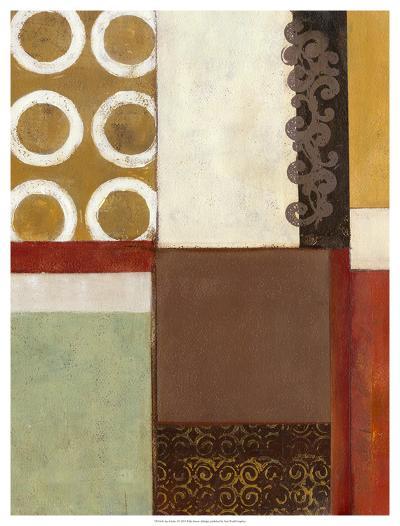 Spa Circles I-W^ Green-Aldridge-Giclee Print