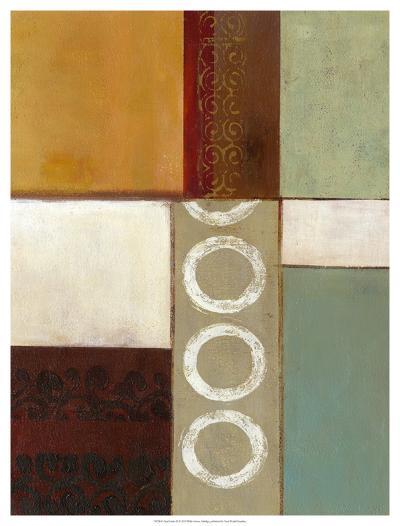 Spa Circles II-W^ Green-Aldridge-Giclee Print
