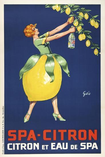 Spa Citron--Giclee Print