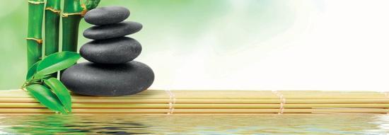 Spa Concept Zen Basalt Stones--Art Print