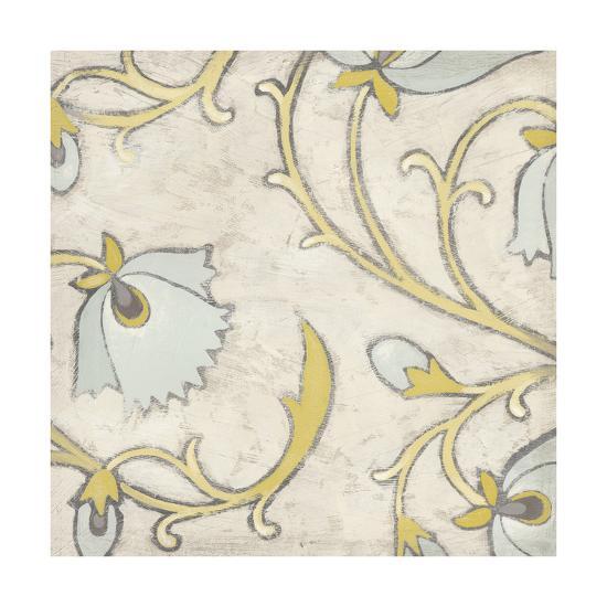 Spa Floral Fresco I-June Erica Vess-Art Print