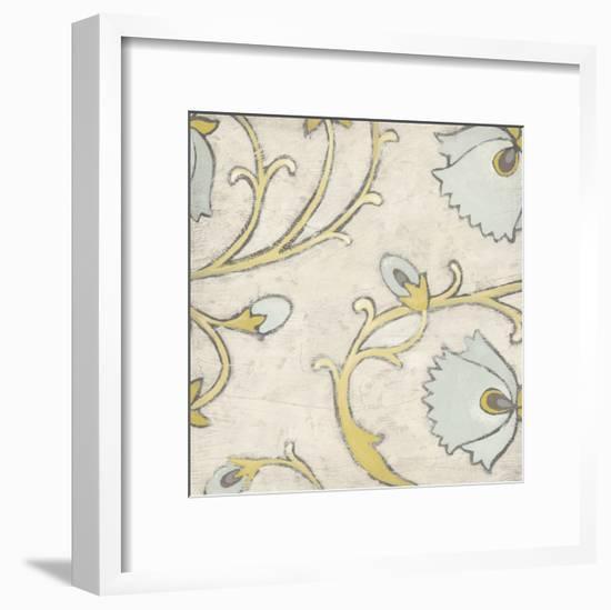Spa Floral Fresco IV-June Erica Vess-Framed Art Print