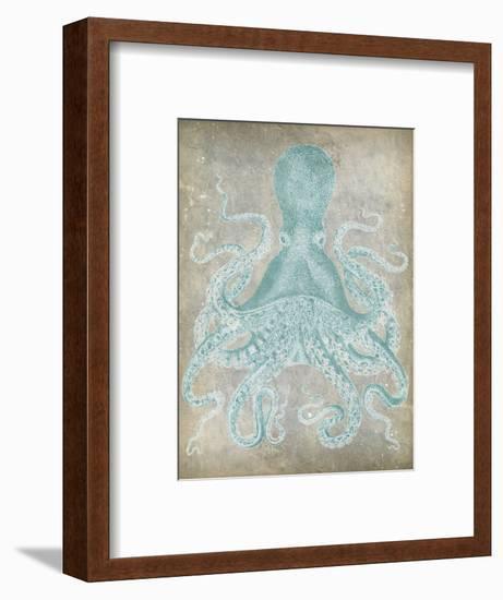 Spa Octopus I-Jennifer Goldberger-Framed Art Print