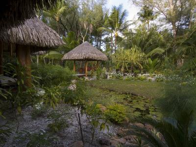 Spa, Pearl Beach Resort, Bora-Bora, Leeward Group, Society Islands, French Polynesia-Sergio Pitamitz-Photographic Print