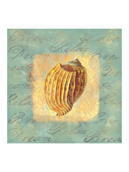 Spa Sea Shell I--Giclee Print