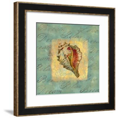 Spa Sea Shell III--Framed Giclee Print