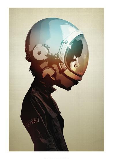 Space Cadet-Hidden Moves-Art Print