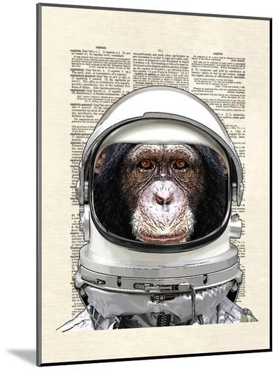 Space Chimp-Matt Dinniman-Mounted Print